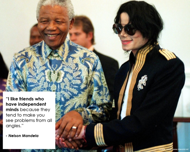 Nelson Mandela on Independent-minded Friends: Day 4
