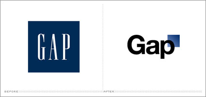 Gap a lot of grief from loyal customers for trying a new logo