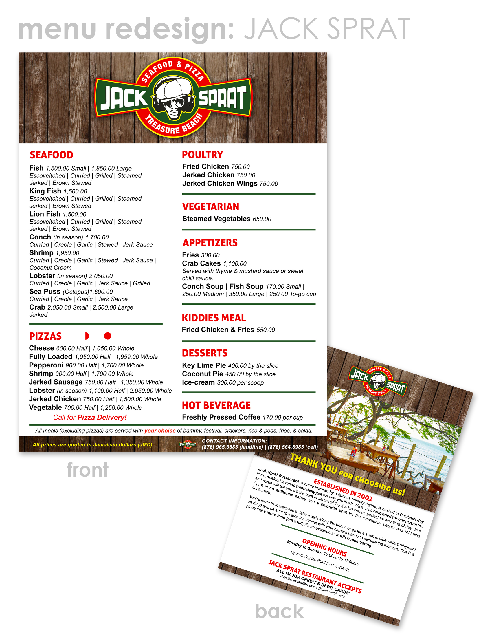 12 Tips To Successfully Design A Restaurant Menu Phresh Ideas Designs