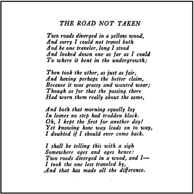 TheRoadNotTaken-Poem