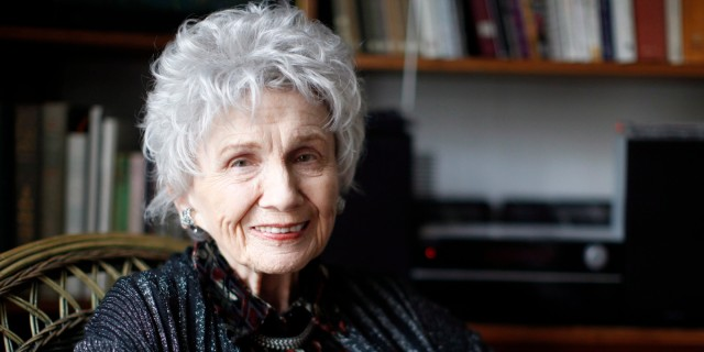 The talented short-story master, Alice Munro