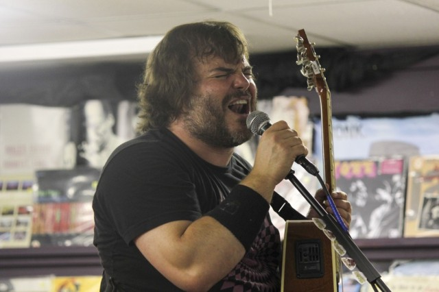 Jack Black in one of his live performance