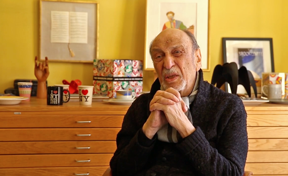 Milton Glaser is one of America's most celebrated graphic designers known for iconic logo and poster designs