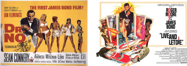 Not only were many of Ian Fleming's James Bond novels written in Jamaica, but these two film adaptations were shot on the island as well