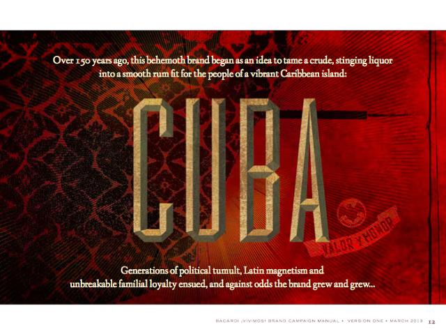 Bacardi Brand-Cuba