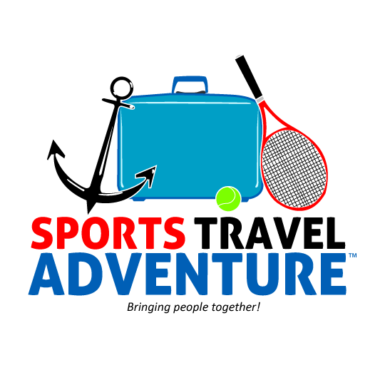 Compact layout of the official logo for Sports Travel Adventure
