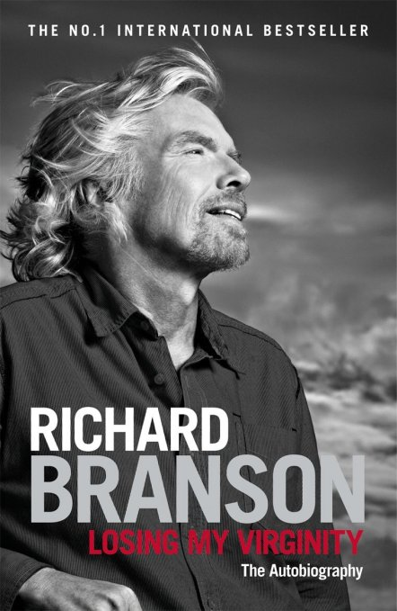 Richard Branson - autobio cover